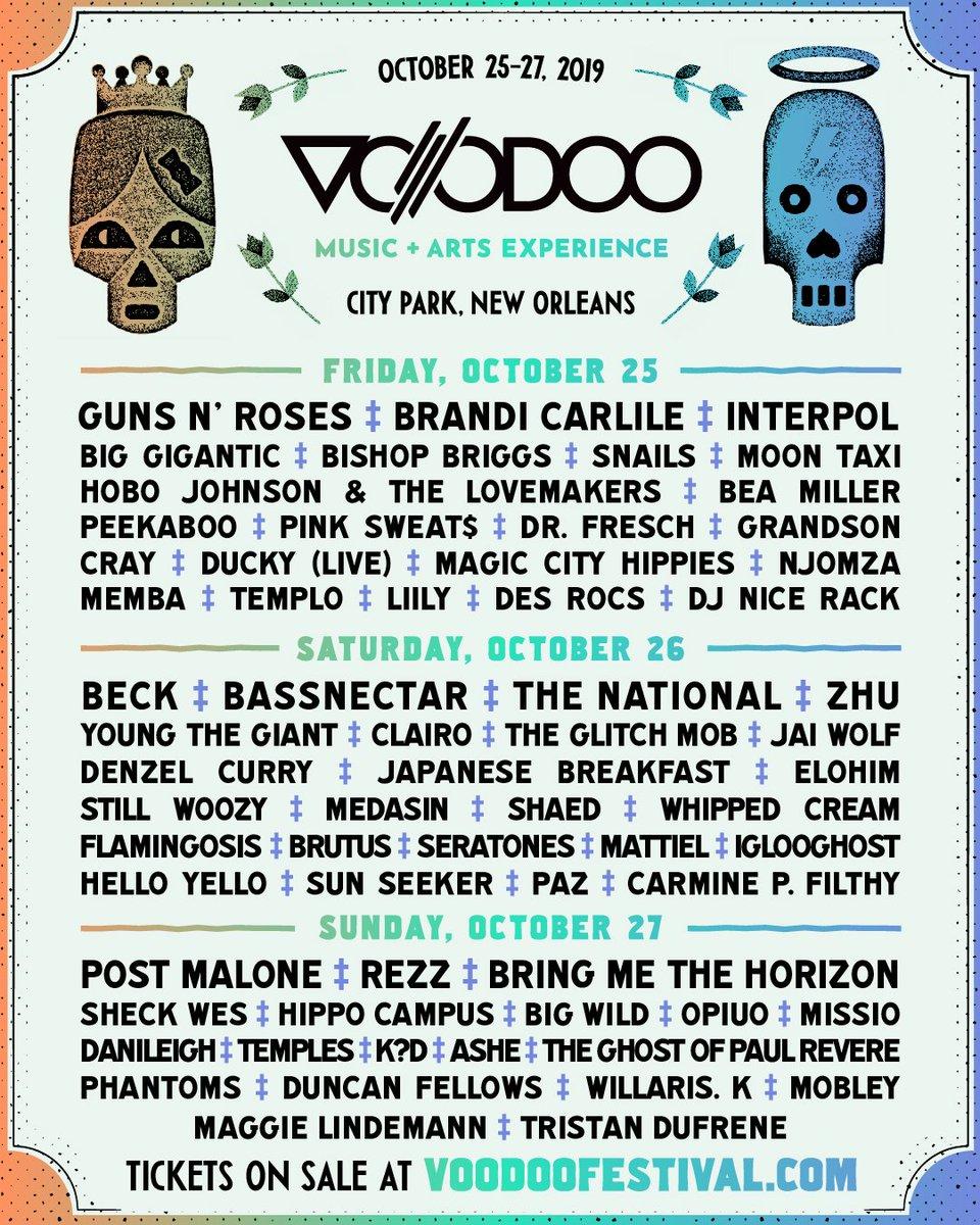 Voodoo Experience (@VoodooNola) | Twitter