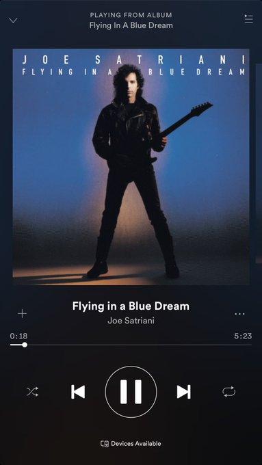 Very Happy Birthday aka Joe Satriani....