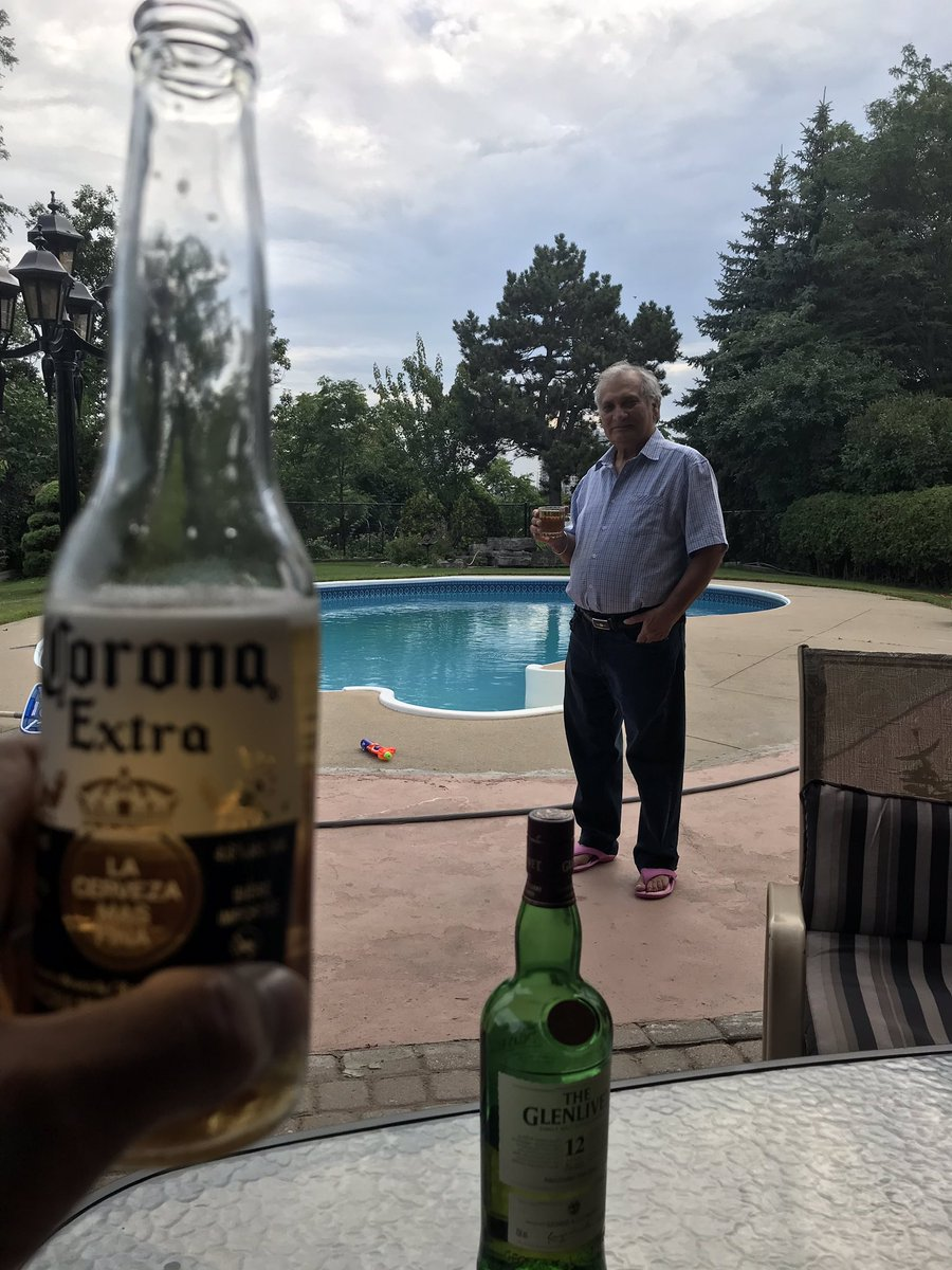 Cheers to the old boy 70 today #happybirthday