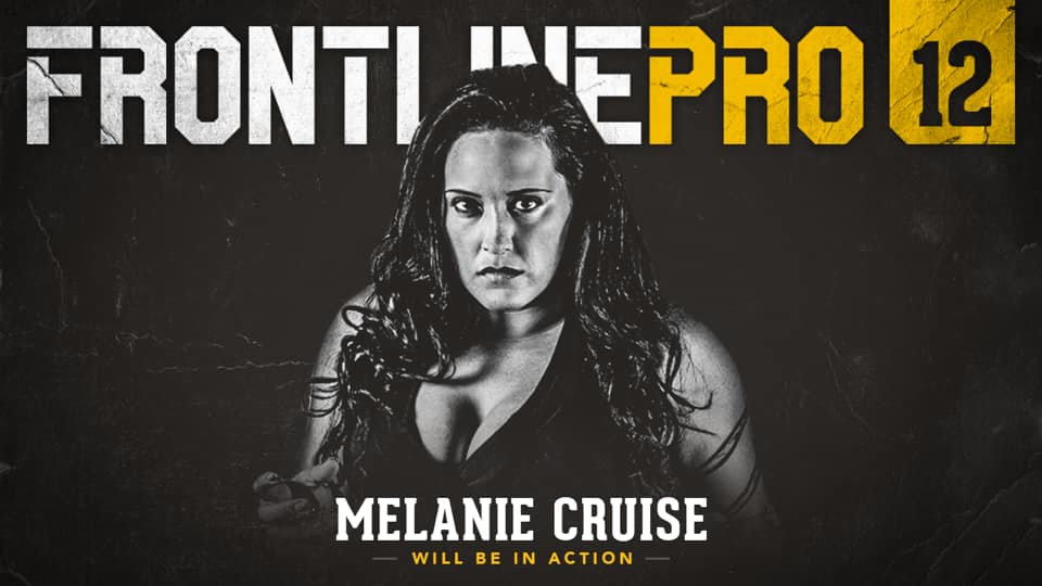 Hot of the press!! We have just confirmed that for the first time in a year @melaniecruise77 will be returning to Frontline Pro!!! Trust us you do not want to miss what she has planned!! #JoinTheFight <br>http://pic.twitter.com/xPwdKYk1vF