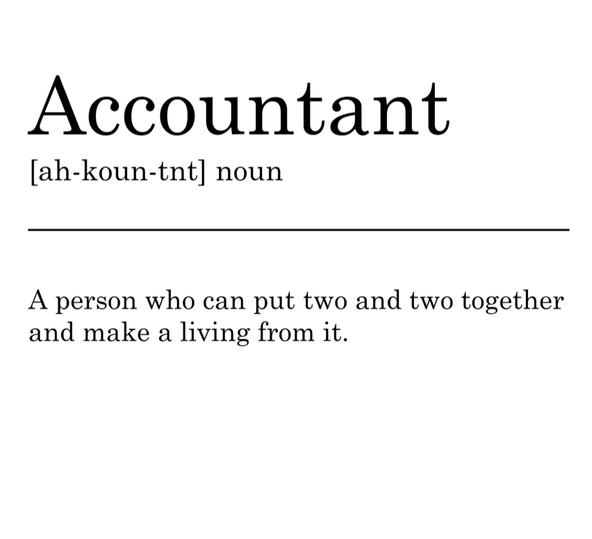 A very important profession if we do say so ourselves  . #cpa #certifiedpublicaccountant #accountant #accounting #accountingtips #accountingservices #taxes #taxtips #taxday #taxseason #taxreturn #taxpreparer #taxhelp #incometax #bookkeeper #business #smallbusiness #finance #money<br>http://pic.twitter.com/LaAIUnHSn3