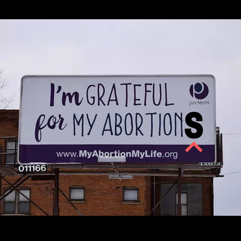 We love @PretermMAML & this billboard. We tweaked the photo a little to show some love to the millions of ppl who end more than one pregnancy. #YouAreLoved #WeMakeInroads #AbortionIsHealthcare #ReproductiveJustice #MyBodyMyChoice #SafeAbortion #ProChoice  #AllOptions #YouKnowMe <br>http://pic.twitter.com/QyyOJ3OvJT