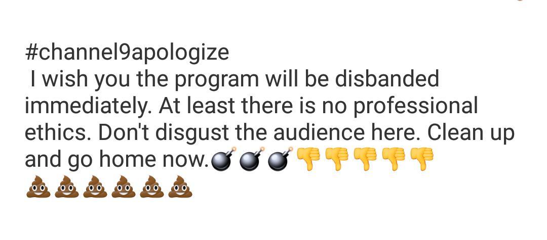#channel9apologize fuck fuck fuck bitch~