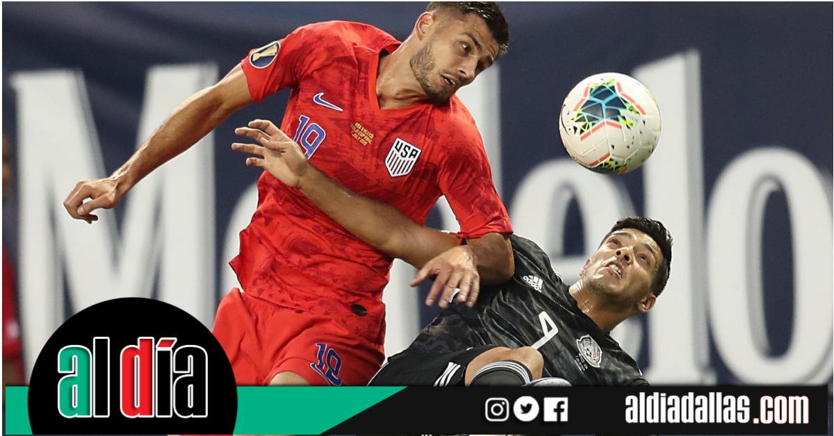 ⭕️| #Deportes |  Las selecciones de #México y Estados Unidos revivirán la final de la #CopaOro en New Jersey. Aquí detalles ⚽. https://www.aldiadallas.com/espanol/al-dia/futbol/2019/07/15/las-selecciones-de-mexico-y-estados-unidos-se-enfrentaran-en-septiembre-en-nueva-jersey/…