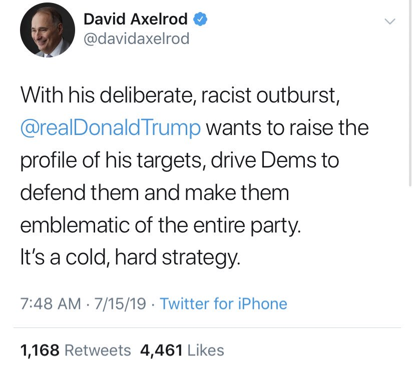 What if he's just racist