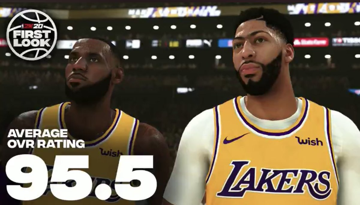 RT @RyanWardLA: LeBron James and Anthony Davis are officially highest-rated duo in #NBA2K20 #2KRatings https://t.co/OgieDHcDe1