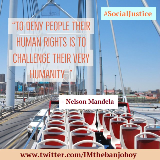 """To deny people their human rights is...""  #NelsonMandela  https://www.youtube.com/watch?v=GCHqqR6yCSc …  #Learning  #RIghts  #MoreLearning  #HumanRights  #Humanity #Dignity  #Accountability  #SocialChange  #SocialJustice  #WorldChangers  #us  #Quotes  #MoreQuotes"
