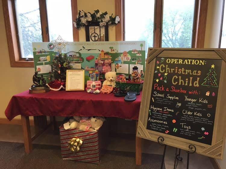 Operation Christmas Child Shoebox Display.Operation Christmas Child On Twitter This Display From