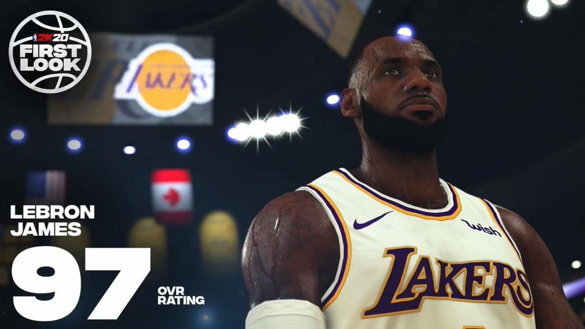 NBA2K Player Ratings Released