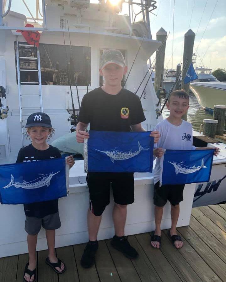 Ocean City, MD - Capt. Howard Lynch on Haulin N Ballin went 3-4 on White Marlin.