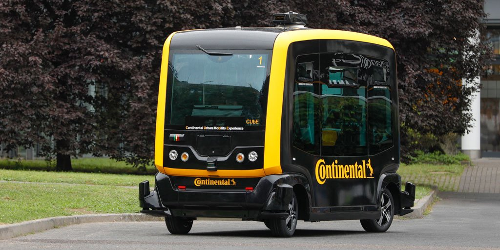 Click here to learn more about our idea of #DriverlessMobility and our CUbE robo-taxi in our Facts & Figures on p. 12-13 👉 https://t.co/LCbvcjKMIU. #AutonomousVehicles #AutonomousDriving https://t.co/bq0EjsSggF