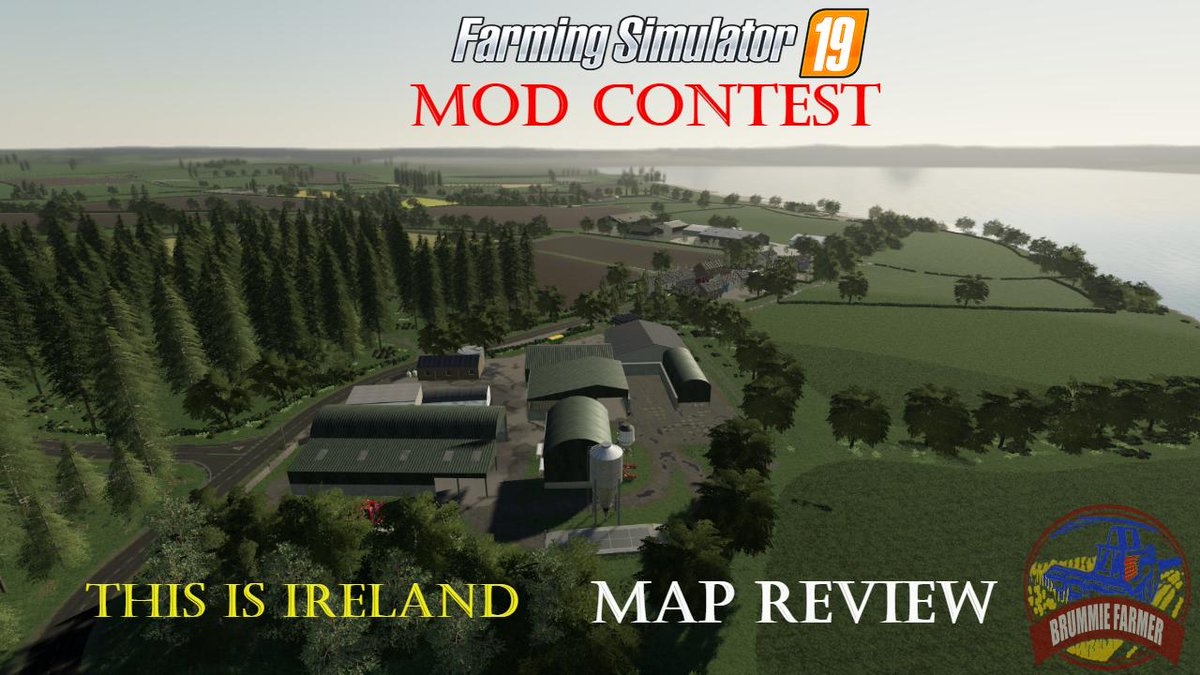 Youtube Map Of Ireland.Farming Simulator 19 Mod Contest This Is Ireland Map Tweet Added