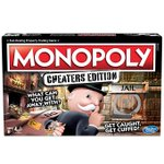 Image for the Tweet beginning: Monopoly Cheaters Edition Board Game