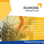 This month's #featuredproject is #RUMORE  They are improving innovation chains between and supporting synergies between rural and urban areas. 🚜⛓️🌆  Find out more about their work https://t.co/V4wXGQiAr6