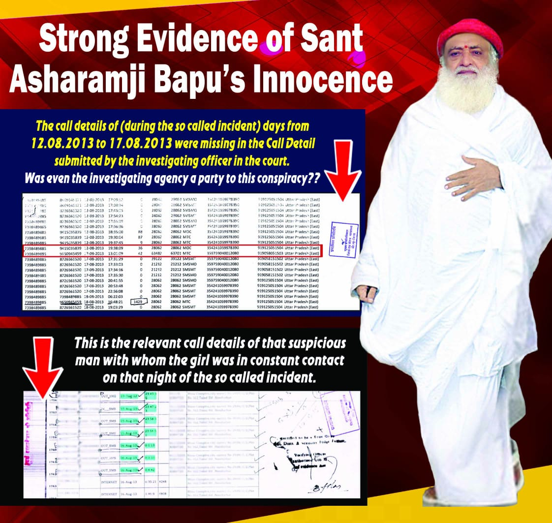 The case on Sant Shri Asaram Bapu Ji is totally bogus.Its a clear conspiracy .He should be acquitted soon. Law is equal for all it is said but no!! Hindu saints can be sentenced to life time imprisonment without any proof! #AsaramBapuVerdict  #MannKiBaat<br>http://pic.twitter.com/jOPhjtxFl6