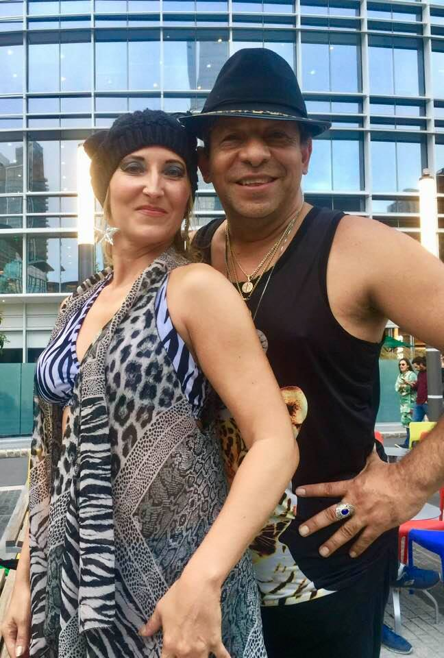 Gueeeepa!  Grand Opening night of Salsa #Dancing and Live Music in @salesforce Park #SALSA D#ance #Party, Friday, July 12, 2019! #SanFrancisco #Salesforce