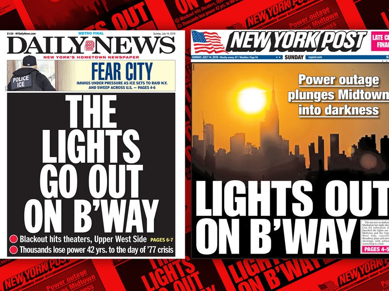 NYC's tabloids are totally in sync—two days in a row bit.ly/2XOj9ad