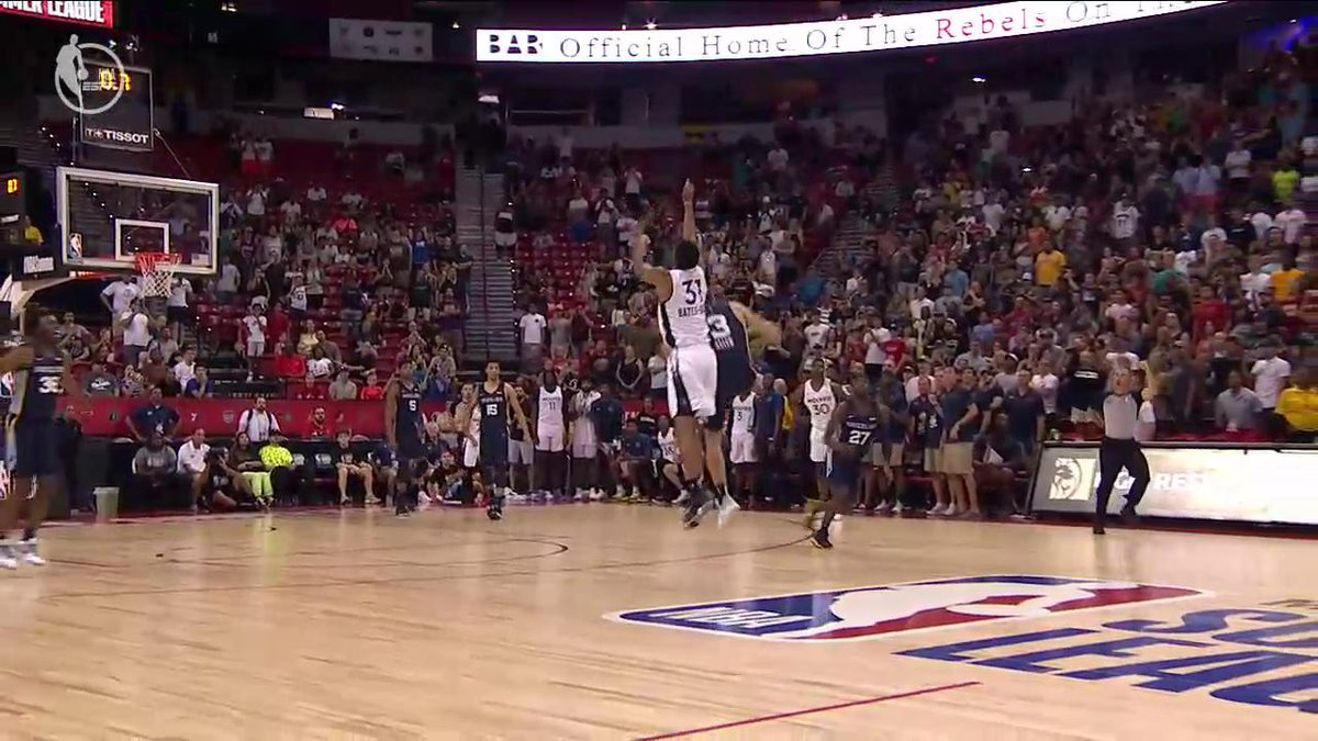 Grayson Allen came up with the stop in clutch time 🖐  #NBASummer