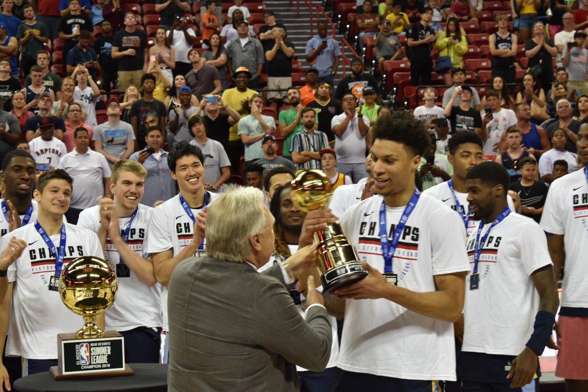 #NBASummer MVP and Championship Game MVP ⬇️⬇️⬇️ @brandonclarke23 🏆🏆