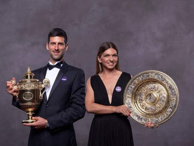 """""""This year Wimbledon 'became' Orthodox.   The winners are both in Eastern Europe and both are Orthodox Christians who place their faith in God above their sport.""""-Bishop Ignatius of the Hussites  <br>http://pic.twitter.com/ALajFYX0hc"""