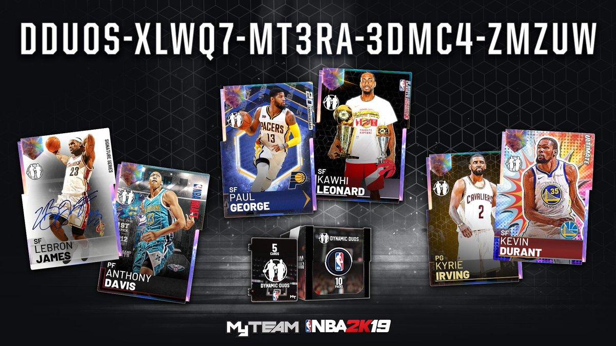 NBA 2k19 Locker Codes (@2k19Locker)   Twitter