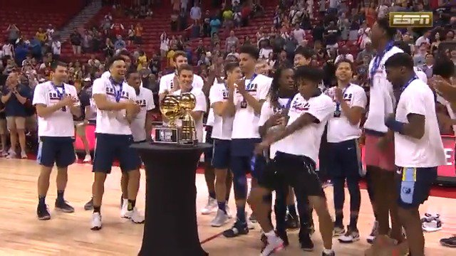 Relive the @NBASummerLeague Championship Presentation for the @memgrizz & Championship Game MVP @brandonclarke23! #NBASummer 🏆