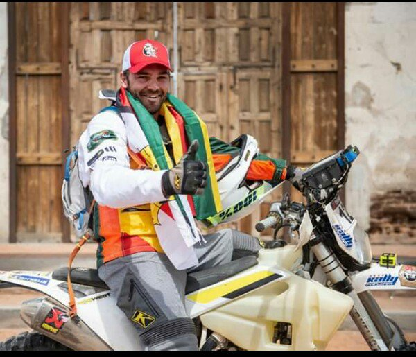 After weeks of thinking  I hereby announce that I will be supporting and tweeting about Graeme Sharp in making sure that his dream of becoming the first Zimbabwean to finish the Dakar rally on a motorbikes comes true #YesWeCan<br>http://pic.twitter.com/aA55JJ5j2T