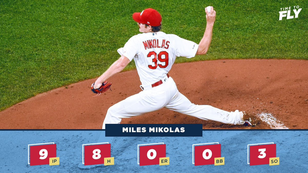 @Cardinals's photo on Miles Mikolas