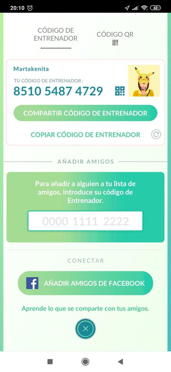 Let's be friends, seamos amigos #pokemongo #PokemonGOFest2019 #PokemonGOfriendscode #PokemonGOCommunityDay https://t.co/k6hWTRJuxv