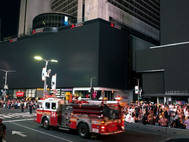 ICYMI: Here's what Times Square looks like with partial ad-blocking bit.ly/32tkl6s