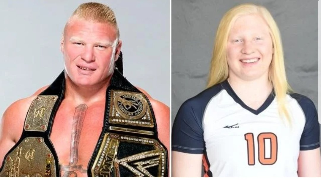 👀 This really Brock Lesnar's daughter??