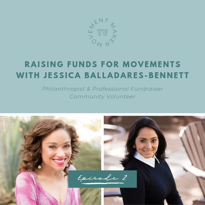 Two more sleeps and you'll have the next #MovementMakerTV on your screen. I can't tell you the how and why people raise money to build movements with Jessica Balladares-Bennett. Let's build movements together!  https://terribwilliams.com/movementmakertv pic.twitter.com/60F4Z5npVM