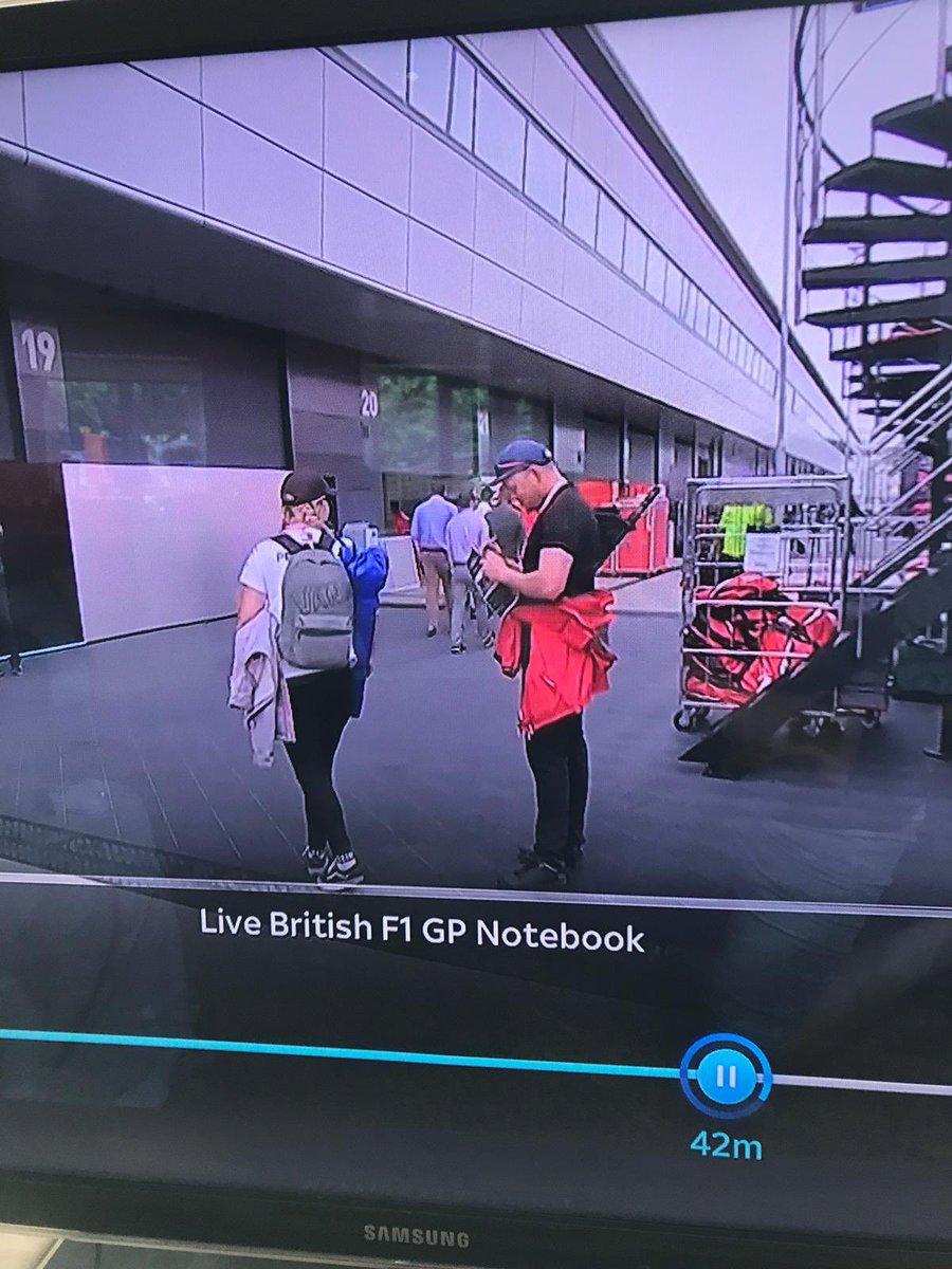 Me and the misses got onto @tedkravitz notebook 😂👍🏻 #tedsnotebook #F1 #Formula1 #Silverstone2019 #BritishGP #BritishGP2019 #BritishGrandPrix #MercedesAMGF1 #MercedesBenz #LewisHamilton #Bottas