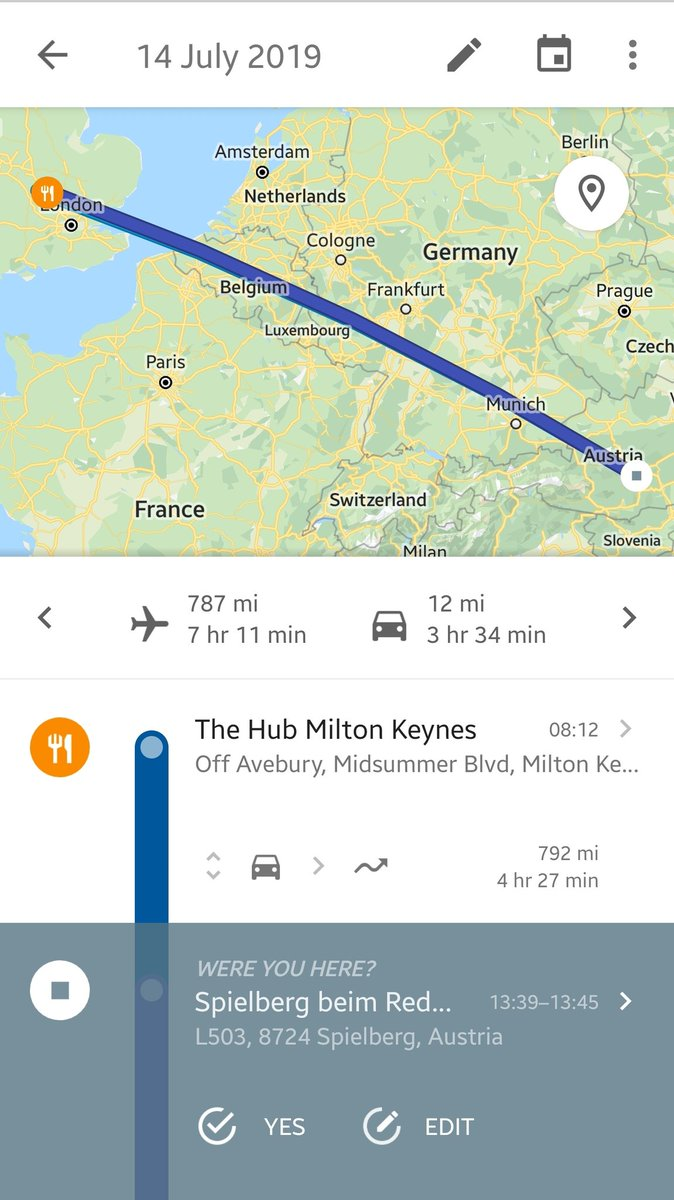 The British Grand Prix was so good my phone got confused and thought I was at the Red Bull Ring. 😂😂 #F1 #BritishGP #wtf1