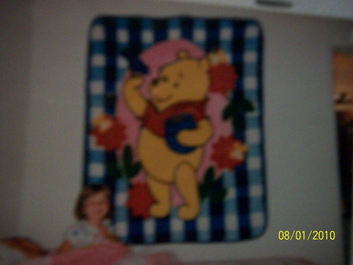 Does anyone know where I can get a blanket like this?! We want to get my niece one, just like her mama used to have. #WinnieThePooh #blanket #searching ☺️ Thanks y'all!