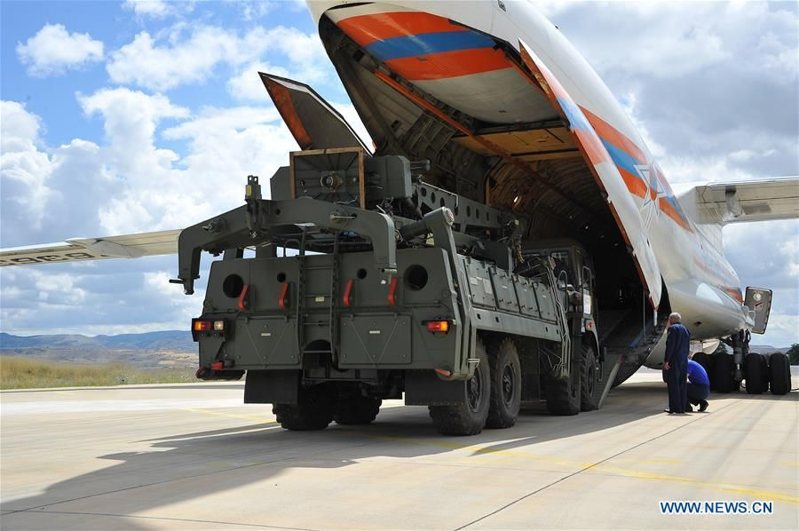 #Turkey says #Russian S-400 system to be fully installed by April 2020 http://bit.ly/2k6v3hK