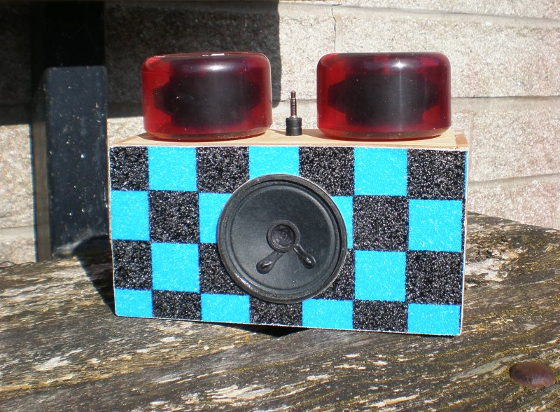 Gallery MP3 Mono Amplifiers - Some example work of housings for amplifier kits made by year 9 pupils at the Humphry Davy School. The theme for the project was recycling.  #dt https://www.kitronik.co.uk/blog/gallery-mp3-mono-amplifiers-humphry-davy-school/ …
