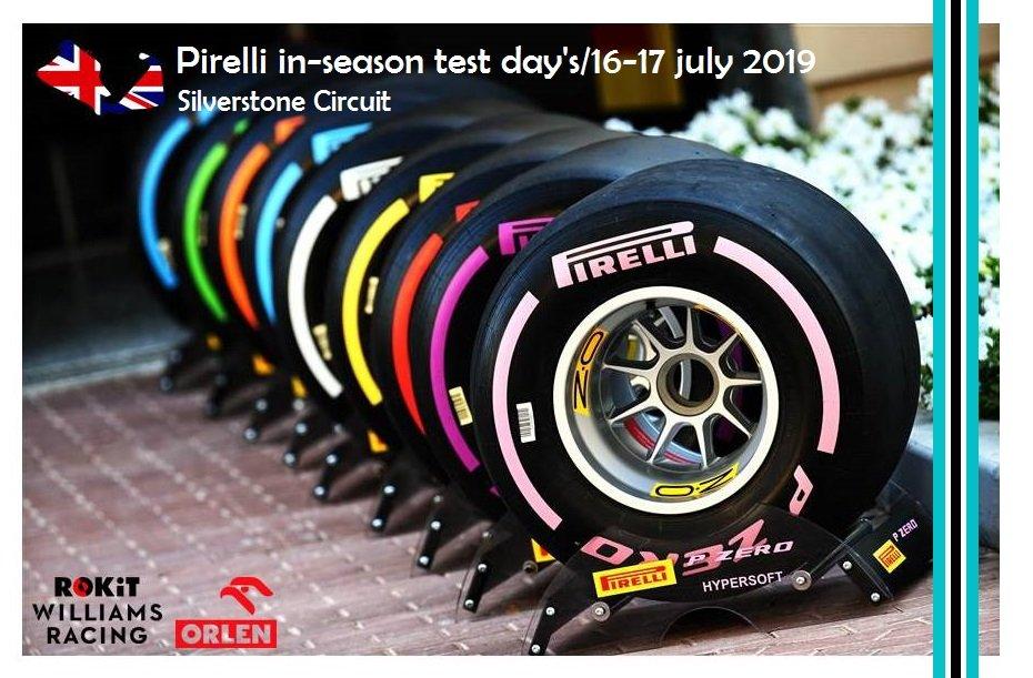 @pirellisport in-season test day's - @SilverstoneUK 16-17 july 2019... @F1 @WilliamsRacing @rokit @PKN_ORLEN @FT @alpinestars @PPG @Acronis #Sofina #Harvest @NetJets #Thales @APLbasketball #WeAreRacing #RK88 #GR63 good luck Robert Kubica, good luck Team ▶️https://kibicekubicy.blogspot.com/2019/07/pirelli-in-season-test-days-silverstone.html…