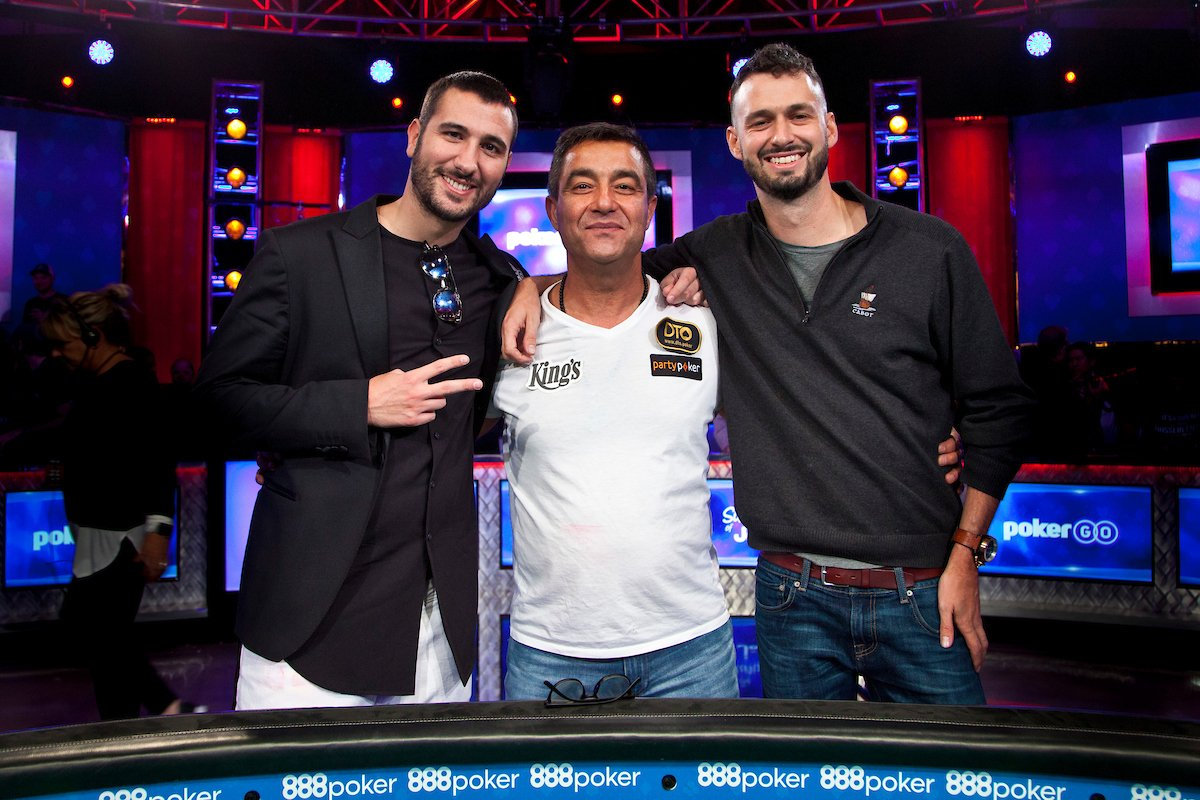 @WSOP's photo on Hossein Ensan