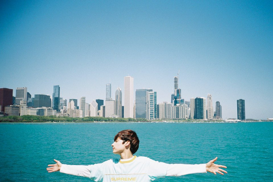 Photo By Beomgyu In Chicago❣️ 🌰