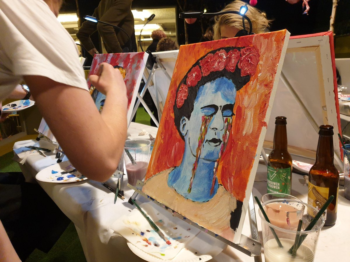 In #Amsterdam? If so, join us #tomorrow #night in the #Atrium for #ArtNight ! It's a great way to meet #fellow #backpackers and get #creative! #Limited #tickets only, so ask for details at reception! See you at 7pm!