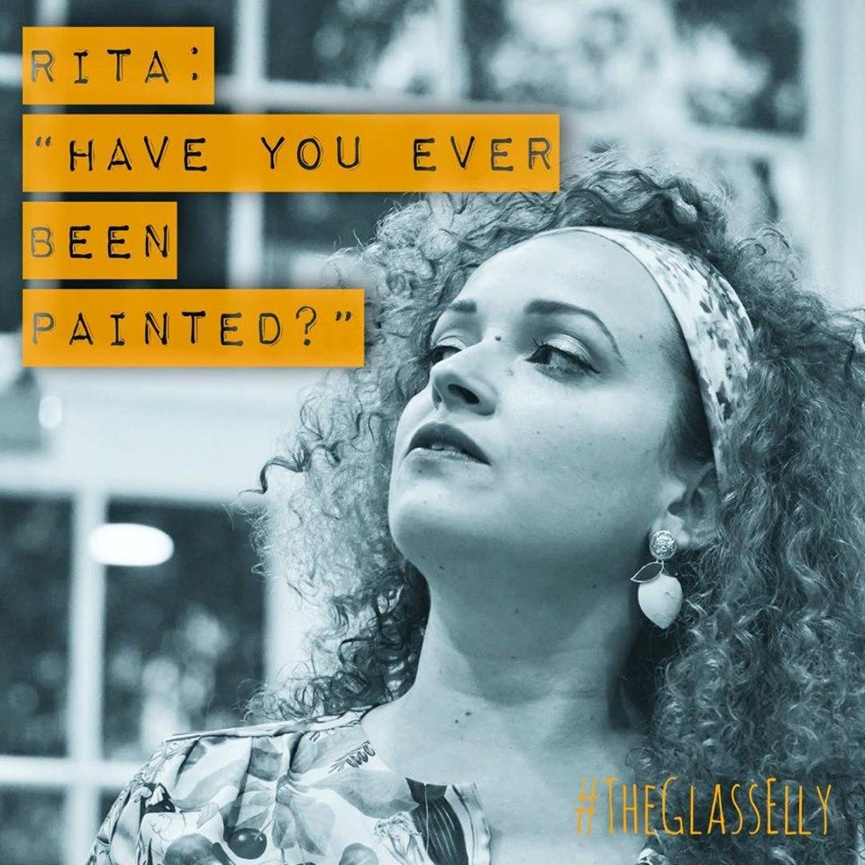 INTRODUCING 'RITA' played by Tamar Geist. @tamar_geist is an Israeli opera singer, musical theatre actress, painter and fresh produce enthusiast who burns as brightly as a thousand suns. • Get tickets for our Edinburgh preview @goodenoughc 28th July or @edfringe 16th-21st August
