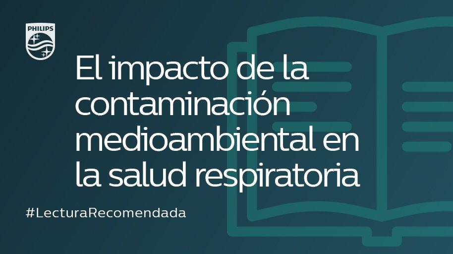 #LecturaRecomendada 📚 | Así afecta la contaminación medioambiental a tu #salud respiratoria ➡ http://to.philips/6012EtREM