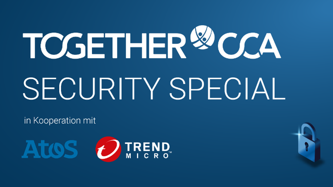 Jetzt neu: Die TOGETHER CCA startet gemeinsam mit Atos und Trend Micro eine Kampagne...