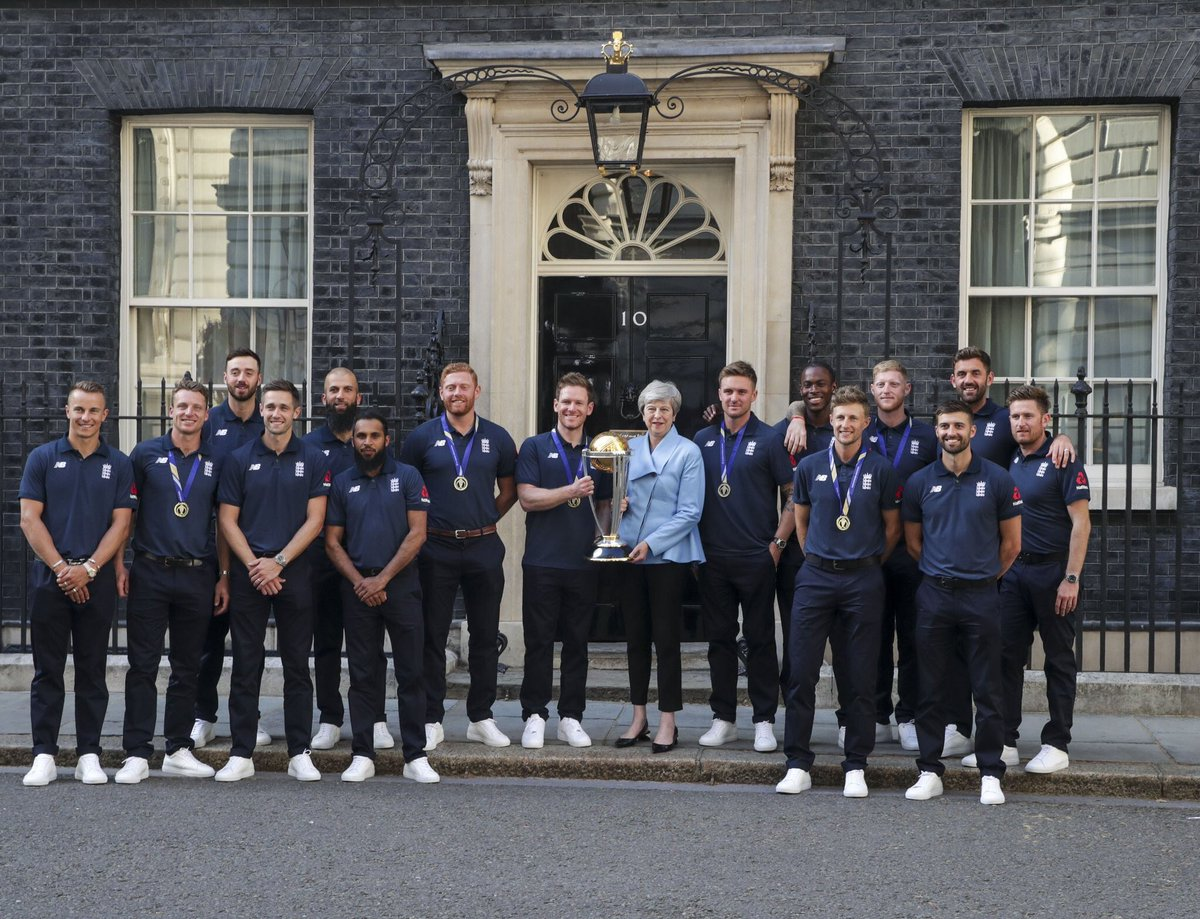 Here we have a team that will be spoken of in awe for generations to come. On behalf of the whole country, congratulations to England's World Cup winners! 🏏