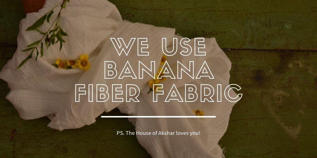 Banana fiber fabric is organic and good for you health. We care about you and the environment.   #organic #sustainable #eco #friendly #choose #sustainability #choose #us #organic #fabrics #lifestyle #choice #control #climate #change #say #no #to #inorganic #fabric #save #earth