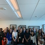 Image for the Tweet beginning: Great meeting w/ #HLPF2019 Youth