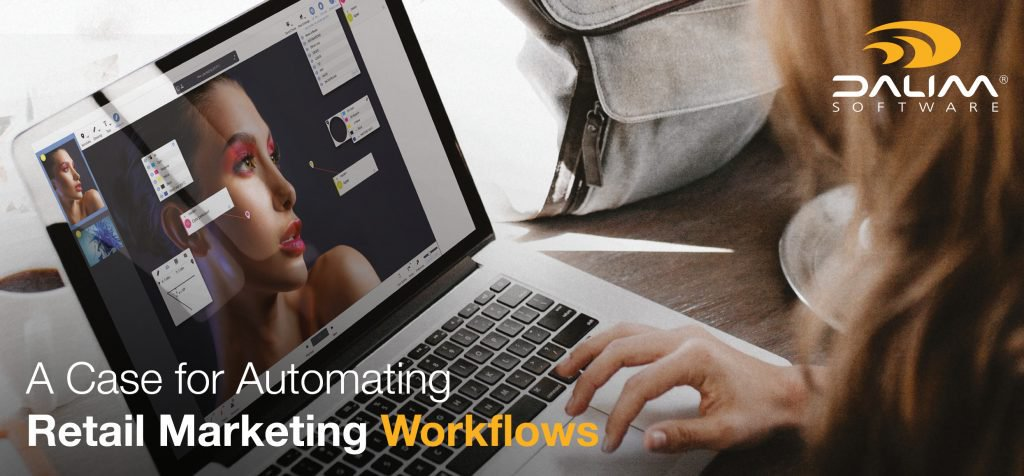 Did you know? You can improve your #ROI by automating your retail marketing workflows! Download the #WhitePaper 👉dalim.com/en/a-case-for-… #Retail #Marketing #Workflows🚀