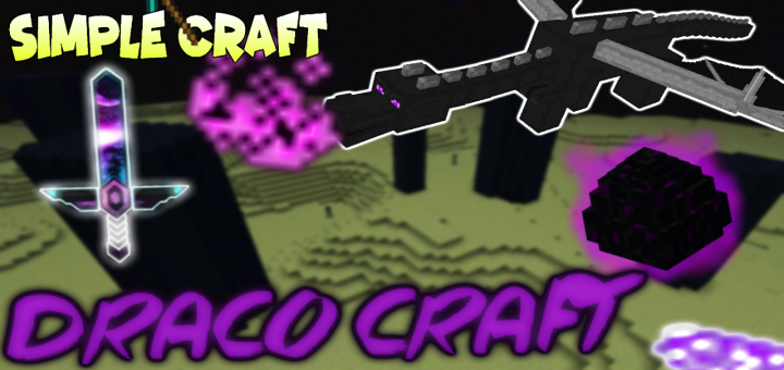 Draco Craft By Simple Craft! - Add-on - https://mcpedl.com/draco-craft-simple-craft/… - By Simple Craft