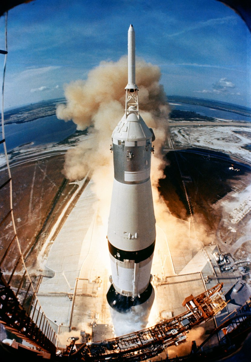 The #Apollo50 celebrations officially begin today! On this day 50 years ago Neil Armstrong, Buzz Aldrin and Michael Collins were poised to begin their journey to the Moon. skyatnightmagazine.com/space-missions…